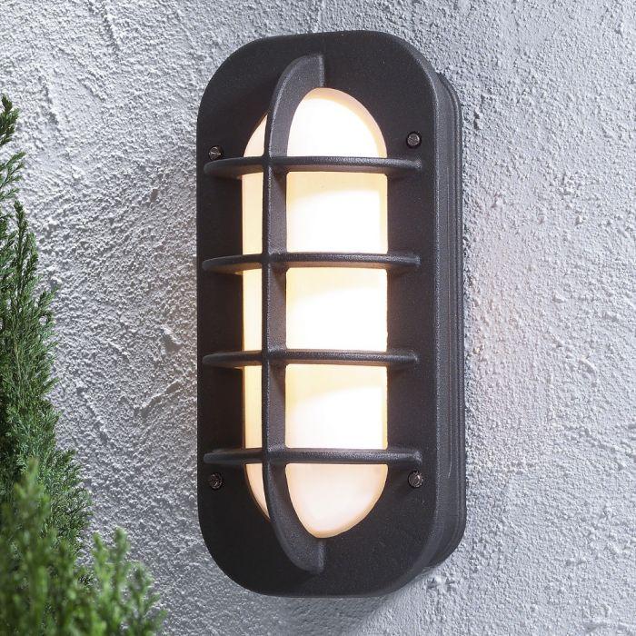 Konstsmide Loke 513-752 wandlamp zwart