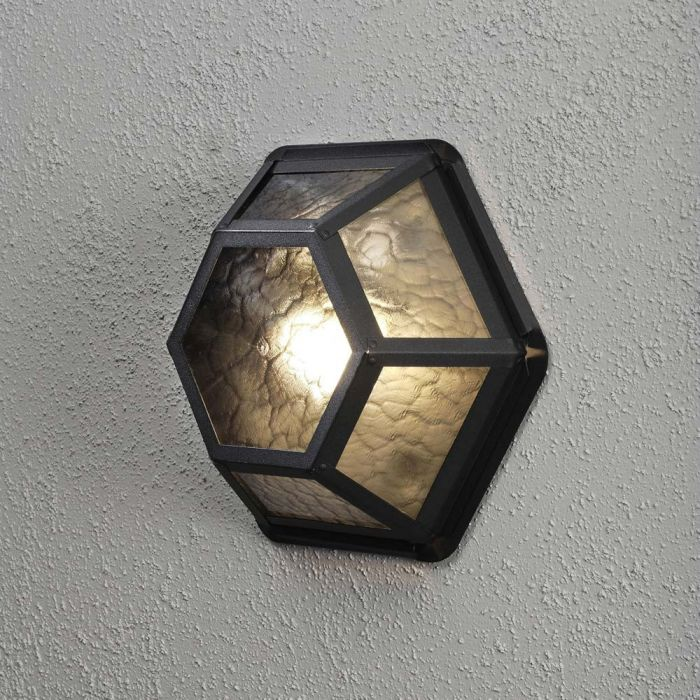 Konstsmide Castor 533-750 plafondlamp zwart