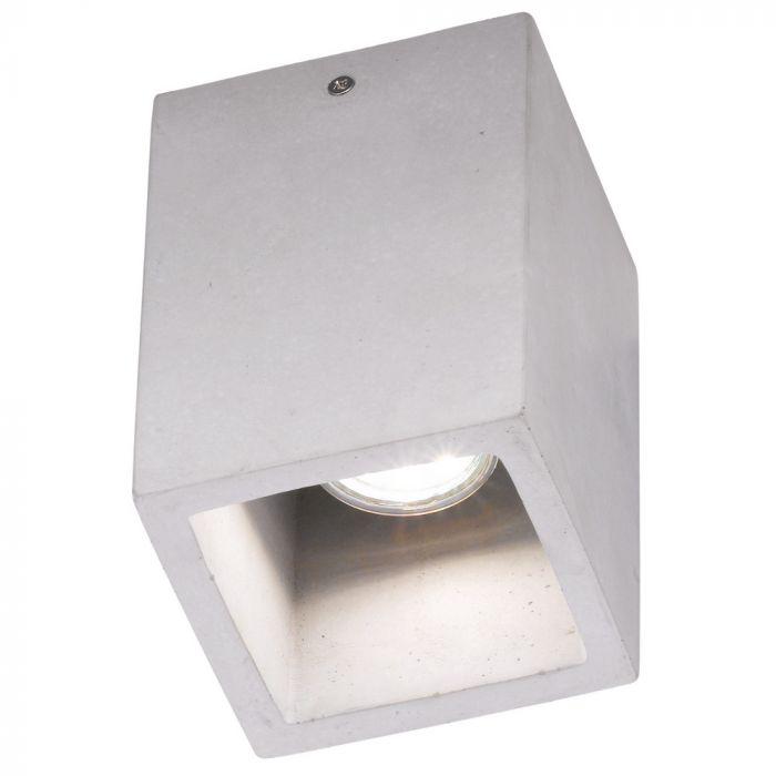Trio Cube 606600178 wandlamp beton