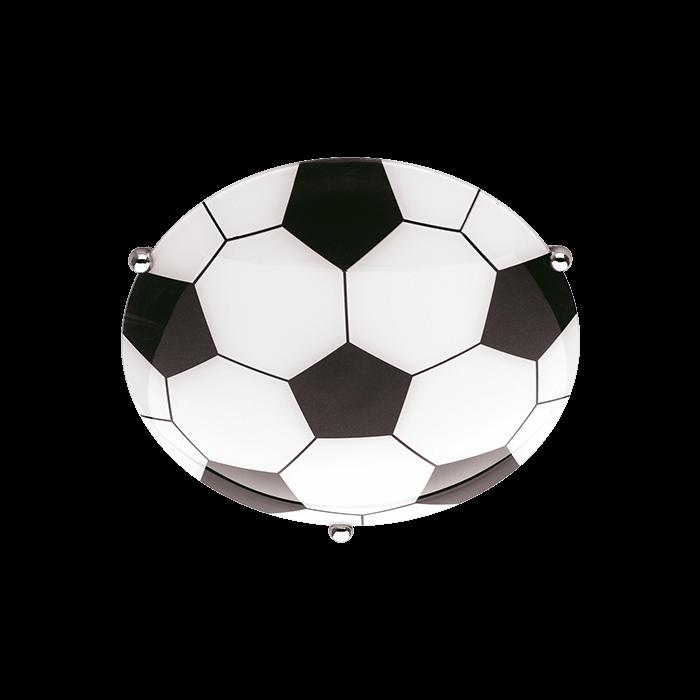 Trio kinder plafonnière voetbal serie 6160