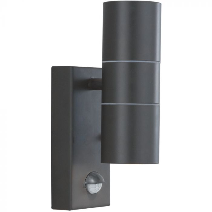 Searchlight 7008-2BK sensorlamp zwart