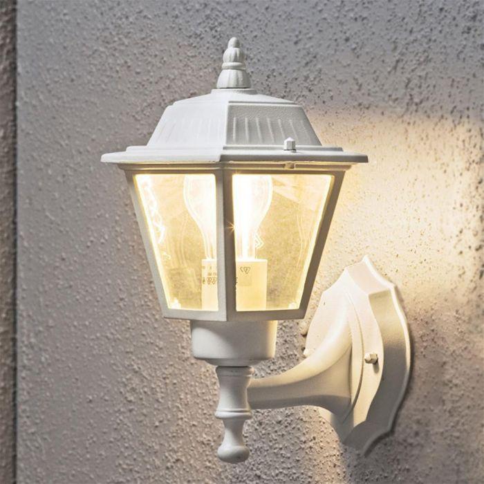 Konstsmide Square 7093-250 wandlamp wit