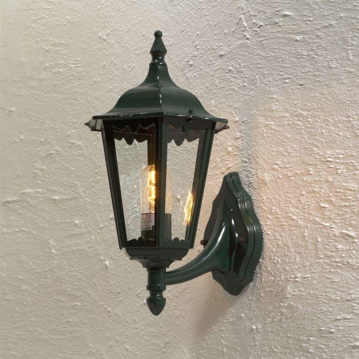 Konstsmide Firenze 7213-600 wandlamp opwaarts groen