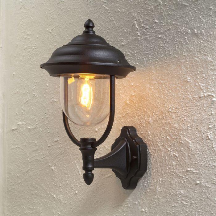 Konstsmide Parma 7223-750 wandlamp zwart