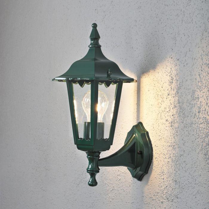 Konstsmide Firenze 7232-600 wandlamp opwaarts groen