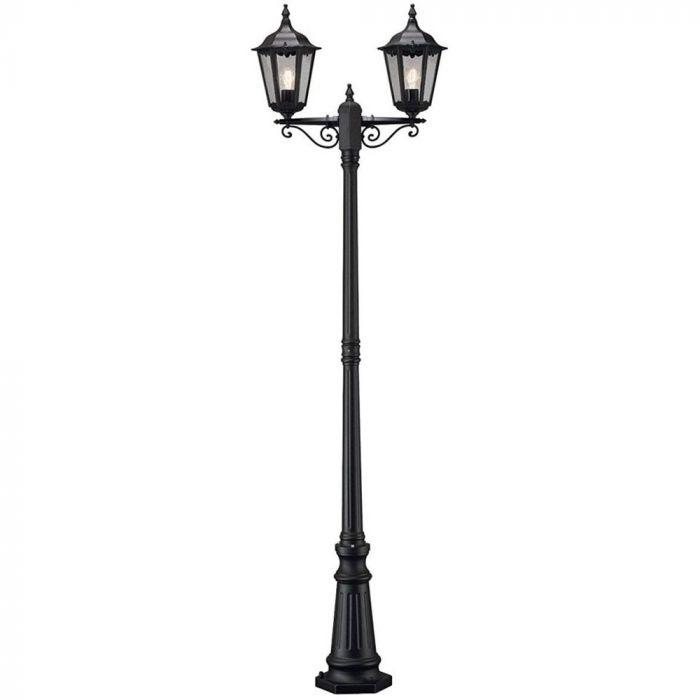 Konstsmide Firenze 7234-750 lantaarnpaal zwart