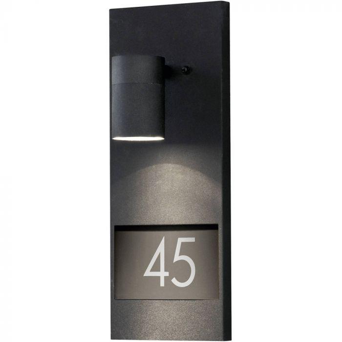 Konstsmide Modena 7655-750 huisnummer lamp zwart