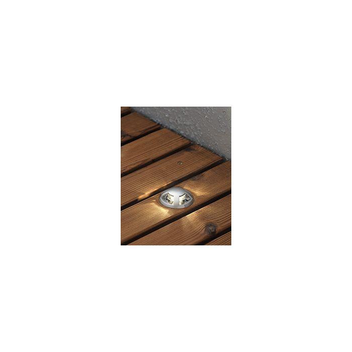 Konstsmide LED 7678-000 uitbreidingsset grondspots staal