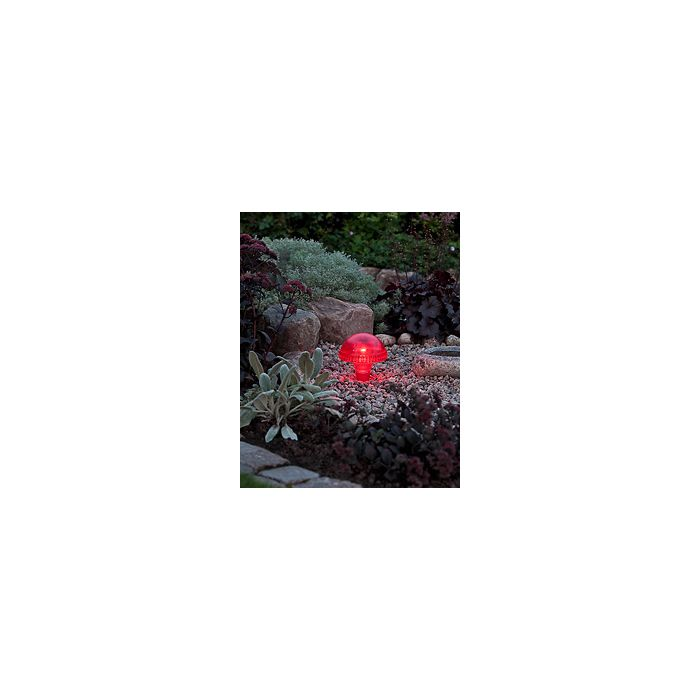 Konstsmide Assisi 7663-500 tuinlantaarn rood