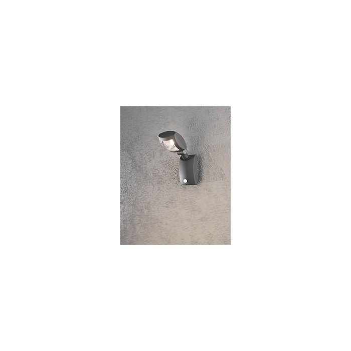 Konstsmide Latina 7937-370 sensorlamp antraciet