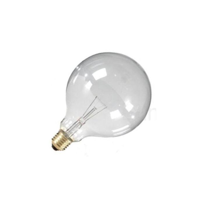 Globelamp Gloeilamp E27 230V 60W 125mm helder