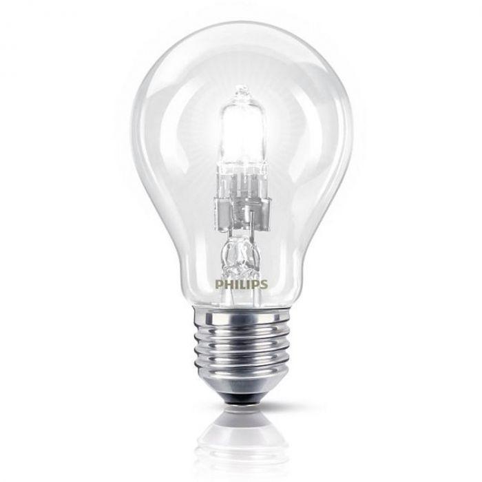 Philips EcoClassic Halogeenlamp E27 42W (55w) Warm wit