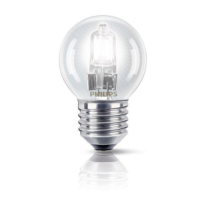 Philips EcoClassic Halogeenlamp kogel E27 28w (35w) Warm wit