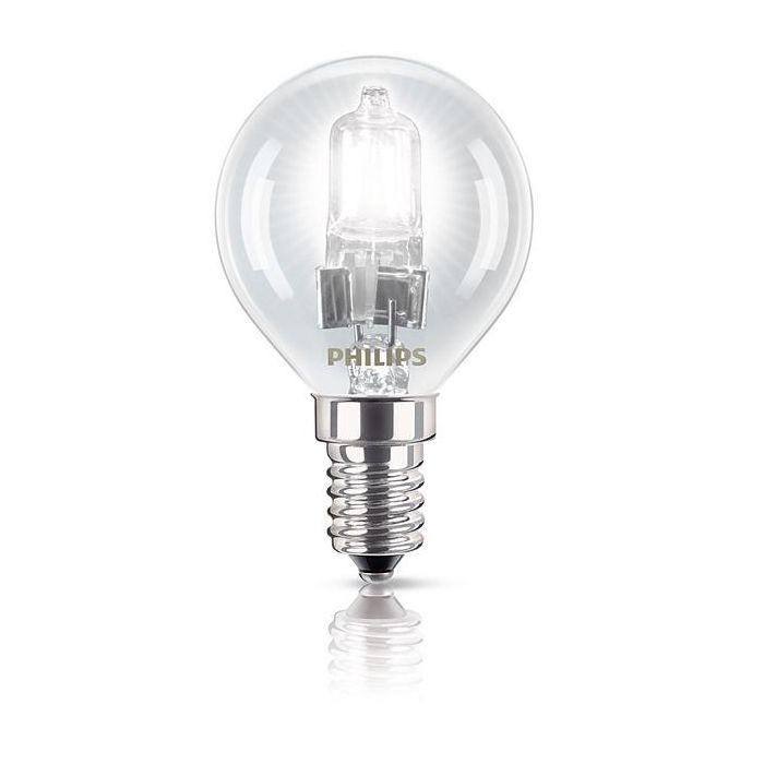Philips EcoClassic Halogeenkogellamp 18W (23w) E14