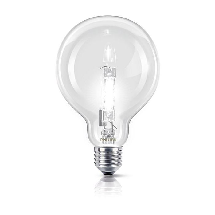 Philips EcoClassic Halogeenlamp bol E27 70w (92w)