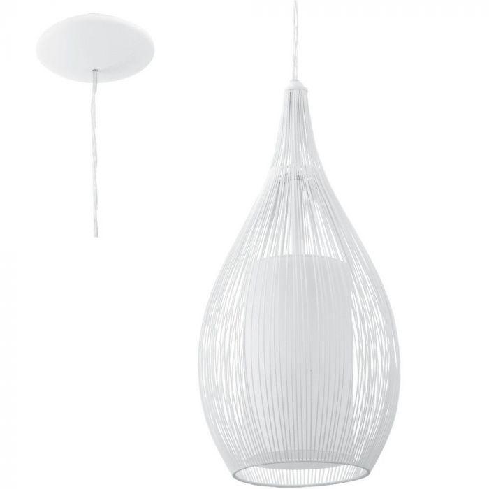 Hanglamp Razoni wit 19cm