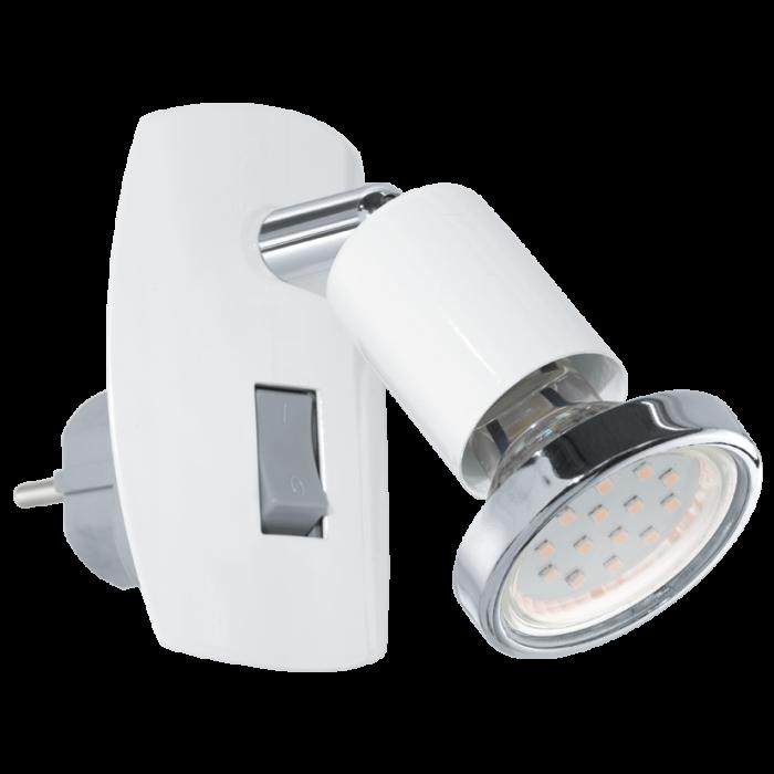 Eglo Mini 4 stekkerlamp 92925 wit
