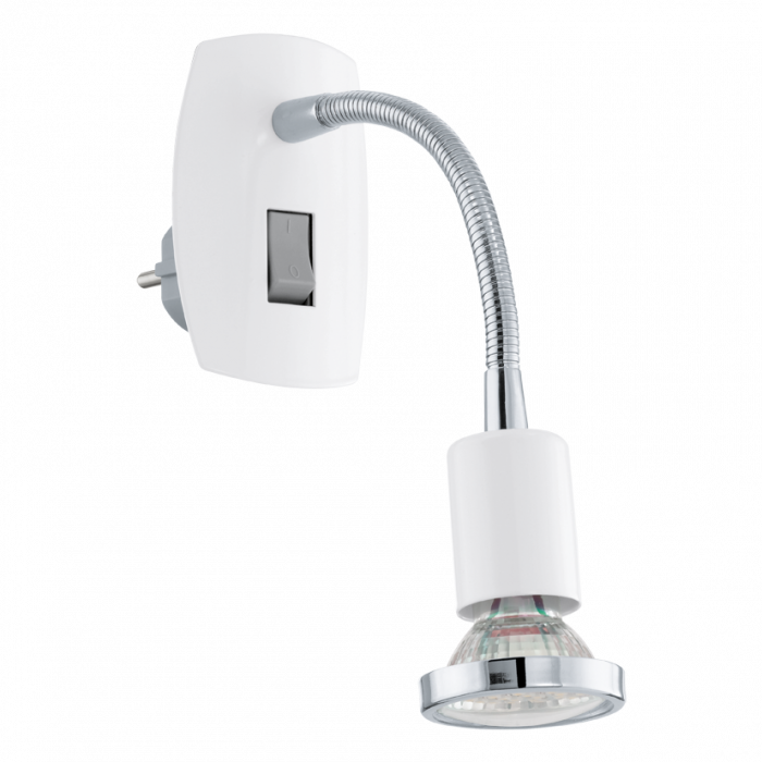 Eglo Mini 4 stekkerlamp 92934 wit