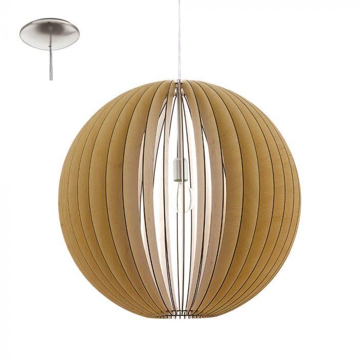 Eglo Cossano 94766 hanglamp bruin