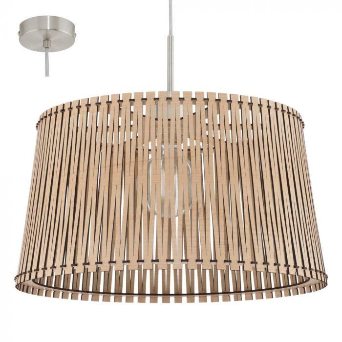 Eglo Sendero 96193 hanglamp hout