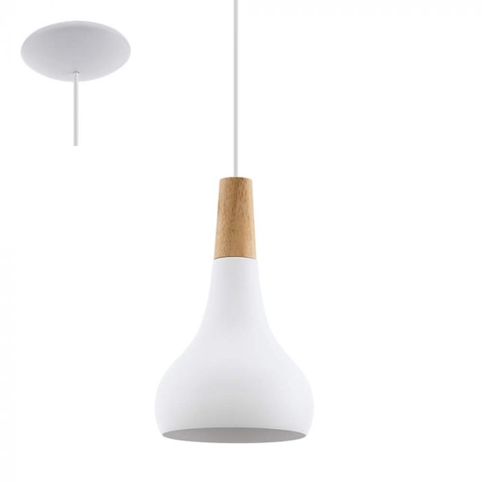 Eglo Sabinar 96981 hanglamp wit