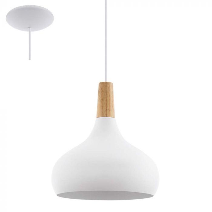 Eglo Sabinar 96982 hanglamp wit