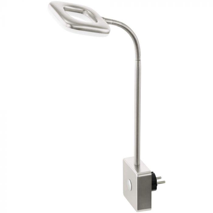 Eglo Litago 97015 stekkerlamp staal
