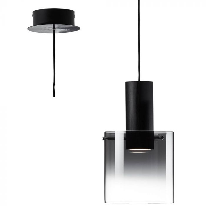 Brilliant Beth G75570/93 hanglamp zwart
