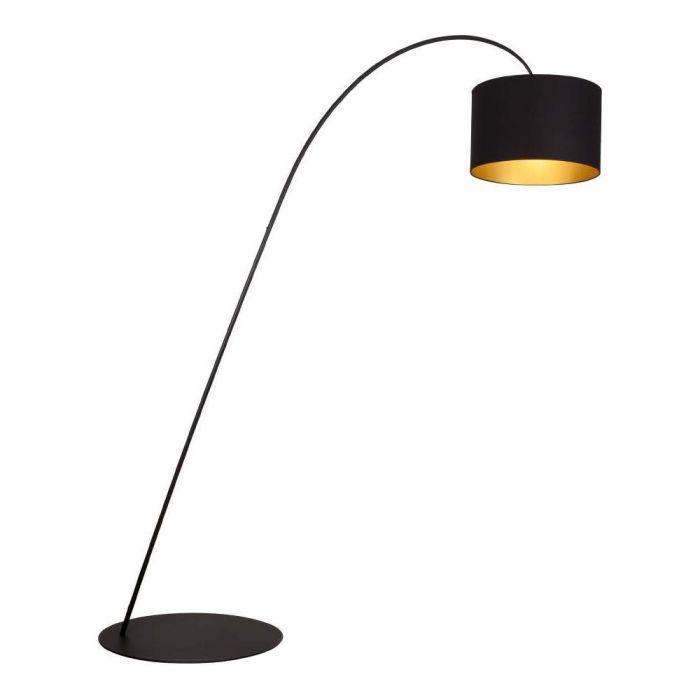 Brilliant Giraffe 94868/86 vloerlamp zwart