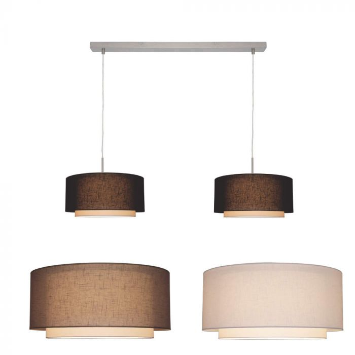 Freelight Camelot H8012S hanglamp staal