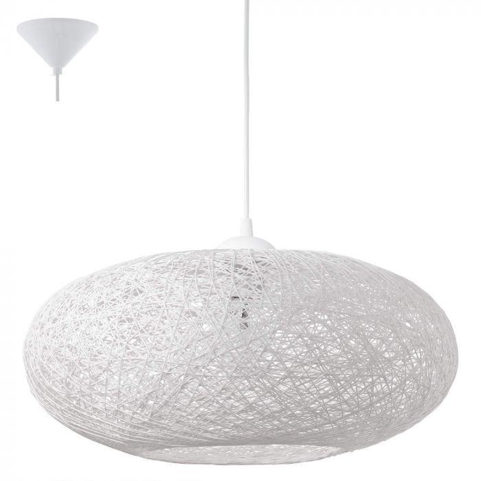Eglo Campilo 93373 hanglamp wit