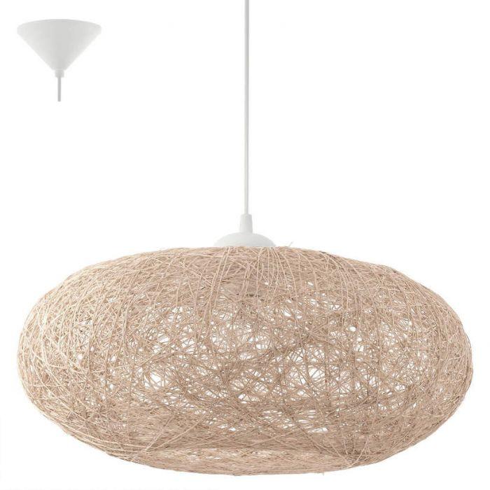 Eglo Campilo 93374 hanglamp beige