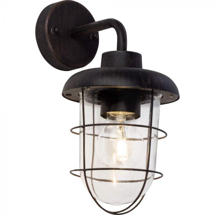 Brilliant Carlisle 96288/55 wandlamp roest