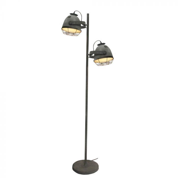 Brilliant Carmen 93684/70 vloerlamp beton