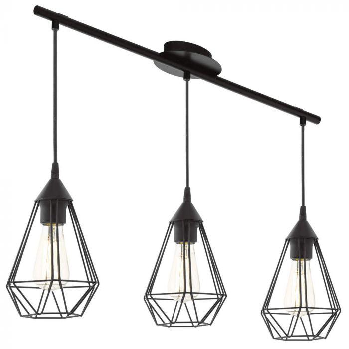 Eglo Tarbes 94189 hanglamp zwart