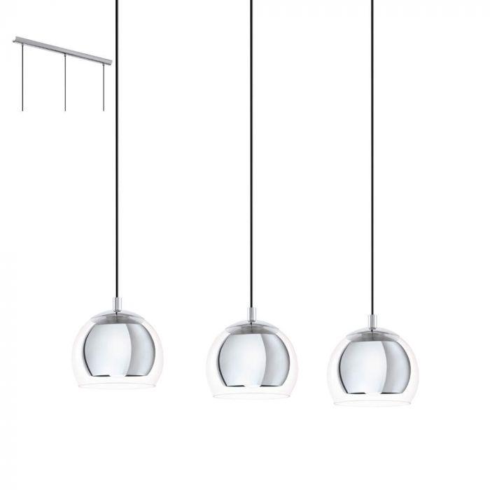 Eglo Rocamar 94593 hanglamp chroom