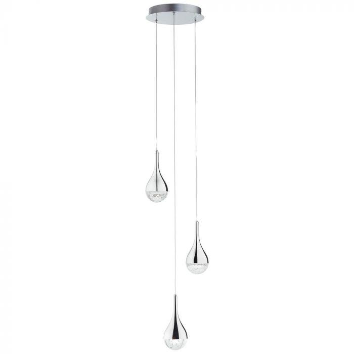 Brilliant Frizzante G93423/15 hanglamp chroom