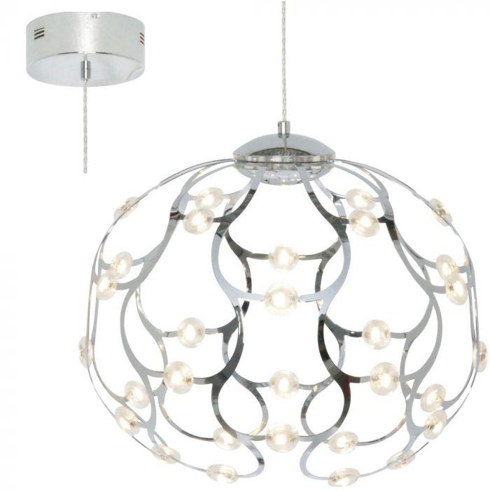 Freelight Carlotta H0480S hanglamp staal