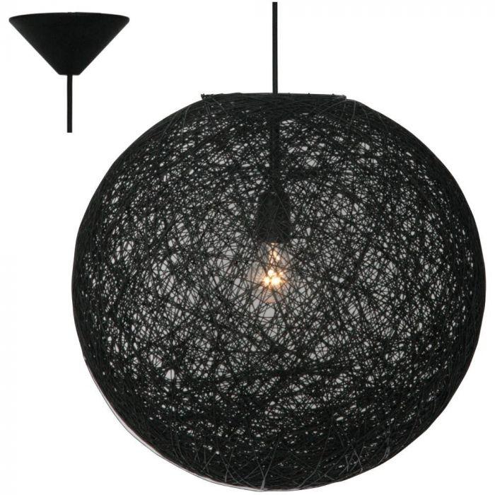 Freelight Abaca H1252Z hanglamp zwart