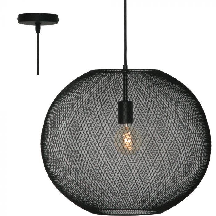 Freelight Noa H3210Z hanglamp zwart