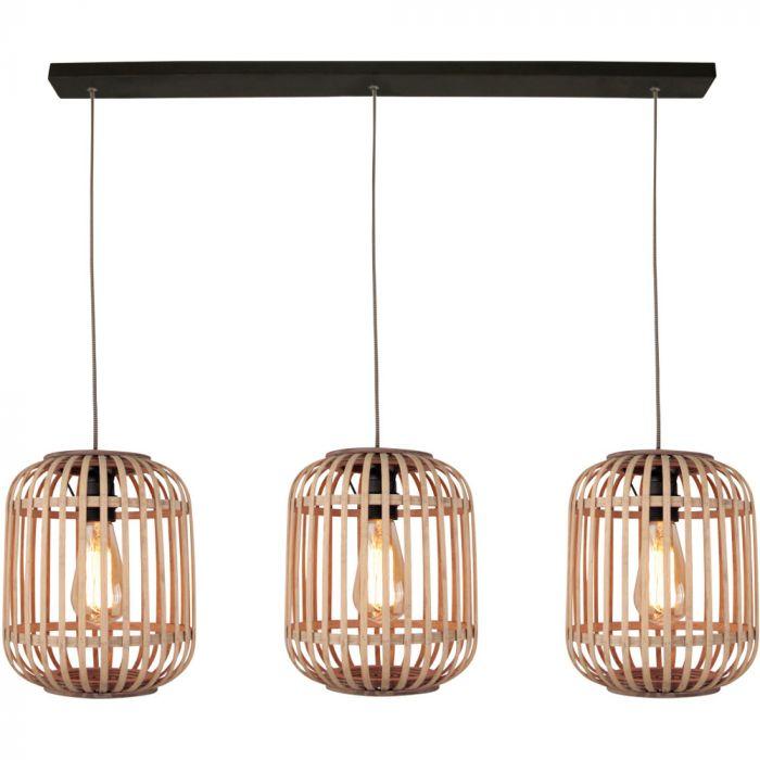 Freelight Malacca H5293Z hanglamp hout