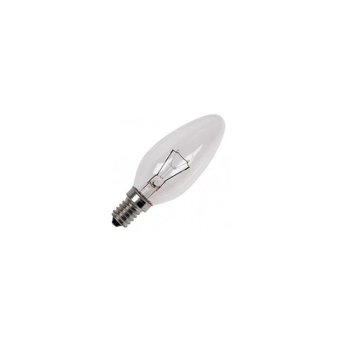 Kaarslamp Gloeilamp E14 230V 40W helder