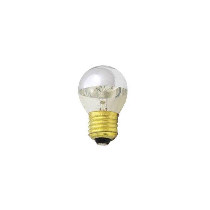 Kopspiegel Kogellamp zilver E27 15w
