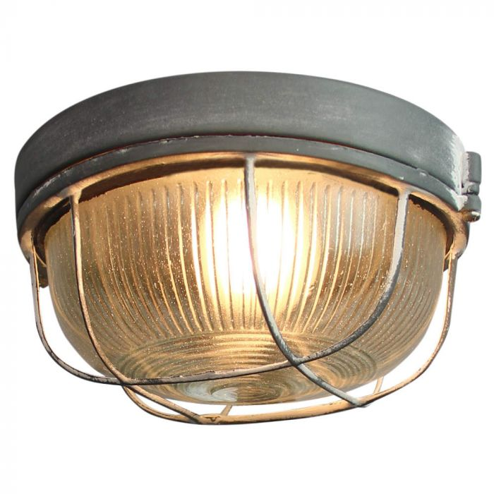 Brilliant Lauren 94481/70 wand/plafonlamp beton