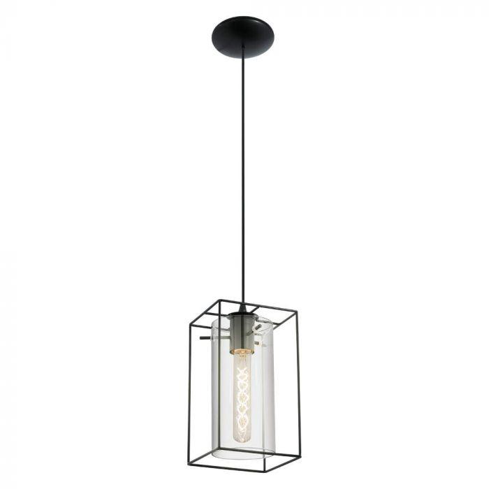 Eglo Loncino 49495 hanglamp zwart