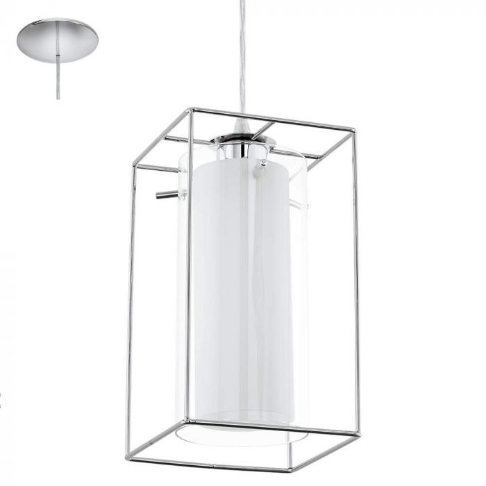 Eglo Loncino 94377 hanglamp chroom