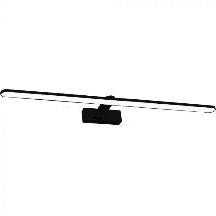 Spiegellamp Splash zwart 100cm