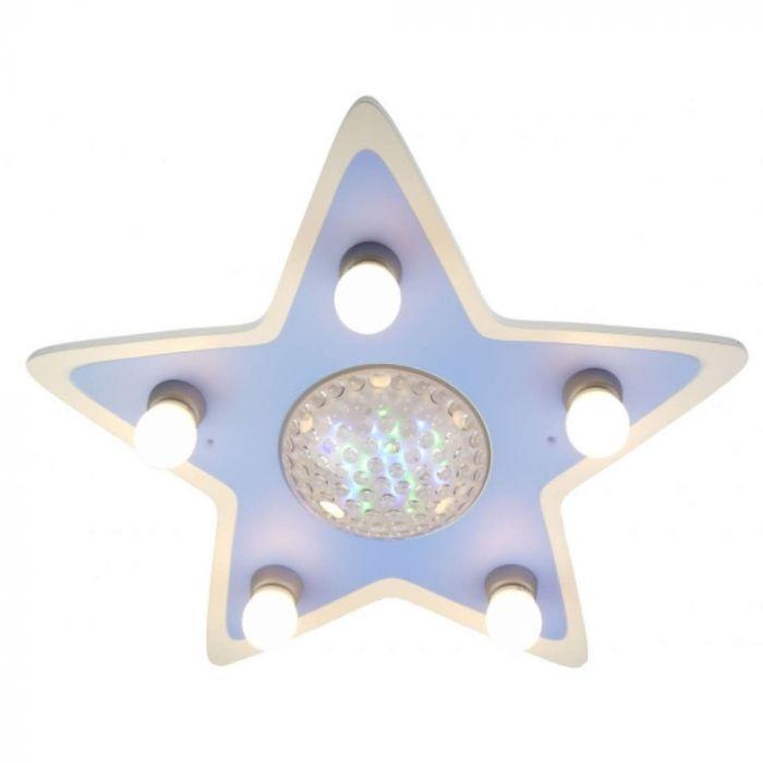 Niermann Happy Ster 777 plafondlamp 4-kleurig