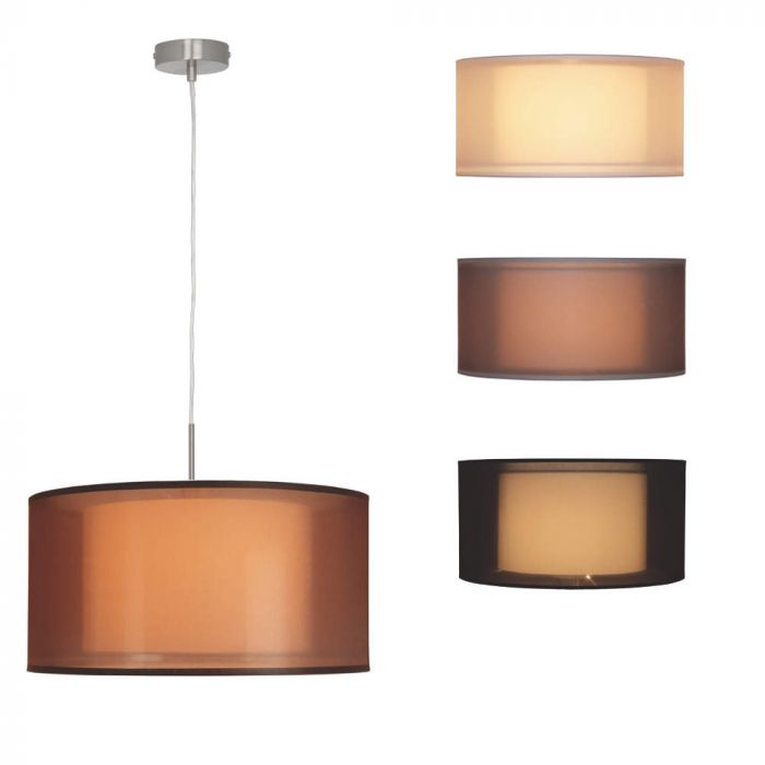 Freelight Organza H8001S hanglamp staal