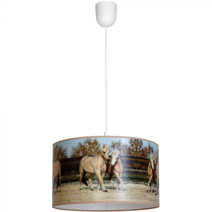 Paarden hanglamp